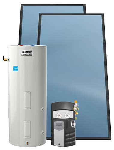 solar packaged system american water heaters