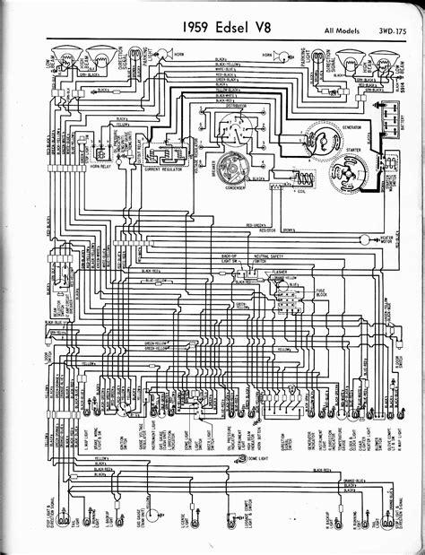 1959 edsel ranger wiring diagram free wiring
