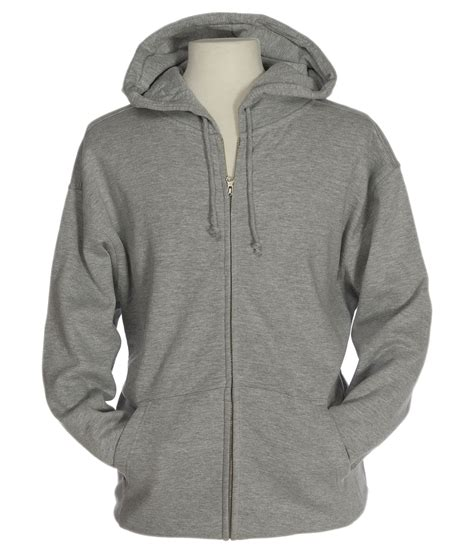 Basic Jacket Hoodie Unisex With Zipper Available In 16 Colou 1 f202 basic zip hoodie 10 oz