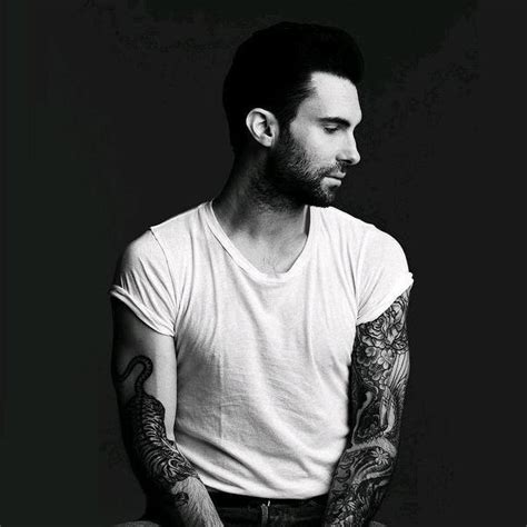 maroon 5 tattoo adam levine sleeve design busbones