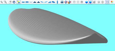 skimboard template shape3d surfboard design software