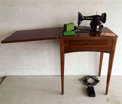 retro sewing machine table retro vintage singer sewing machine and sewing table model
