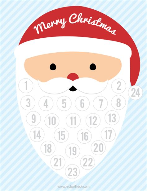 printable countdown to christmas advent calendar 8 best images of printable number countdown free