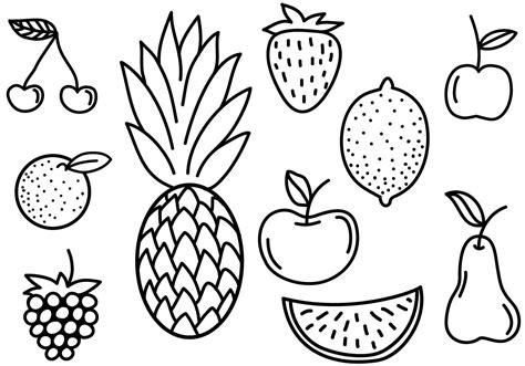 doodle free trial free fruit doodles vectors free vector