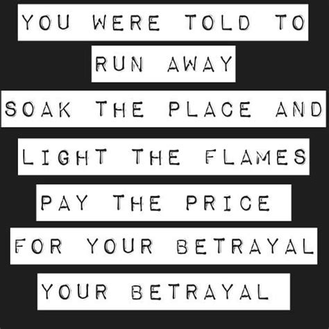 bullet for my song quotes your betrayal by bullet for my song lyrics