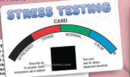 stress test card template testers china wholesale testers page 4