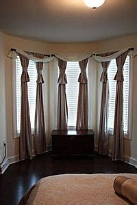 swag curtains for bay windows bay window curtains window curtains and bay windows on