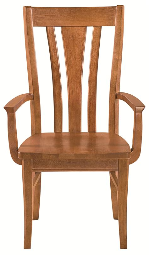 Bassett Furniture Dining Chairs Bassett Custom Dining 4469 4469 1000 Arm Chair With Tapered Legs Dunk Bright Furniture