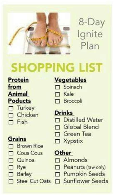 8 Day Detox Diet Plan by 17 Best Images About Xyngular On Health