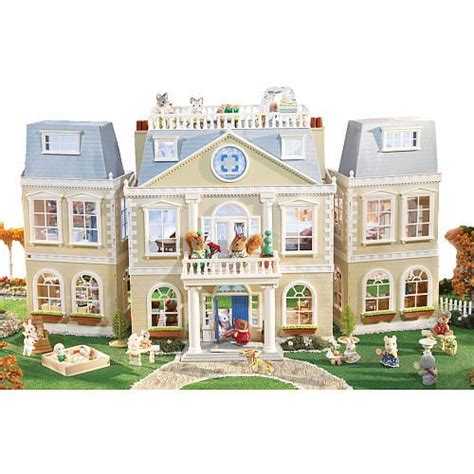 calico critters doll house calico critters cloverleaf manor international playthings toys quot r quot us for my future