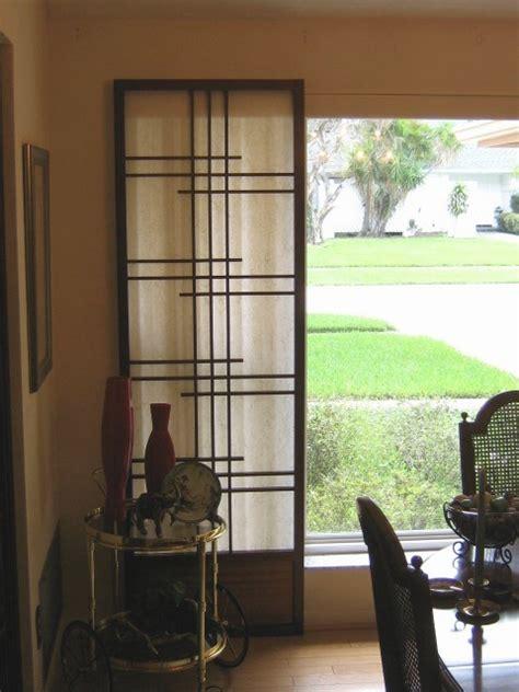 shoji screen doors striking asian latticework