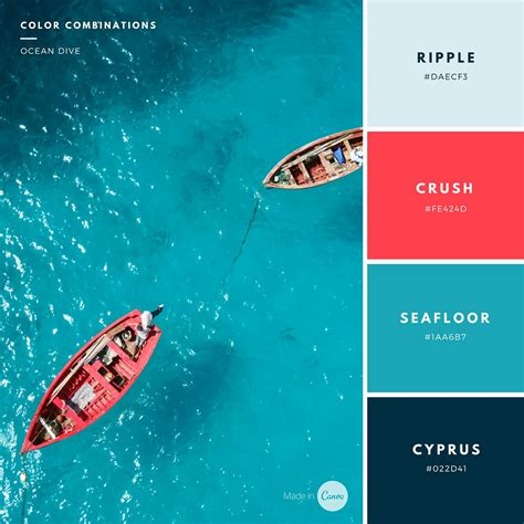 canva color palette graphic design tutorials by canva