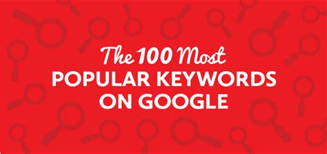 What Search For Most Popular Keywords 100 Most Recent Popular Keywords Search Idreamz Media
