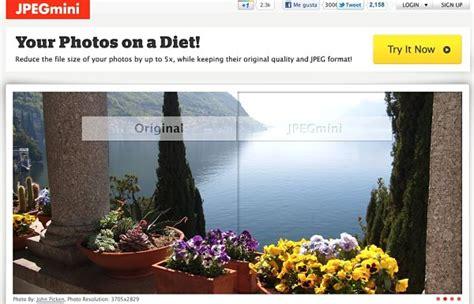 reducir imagenes jpg sin perder calidad jpegmini reduce el peso de varias im 225 genes jpeg sin