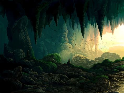 cave background artful voyage caves and cave of primordial