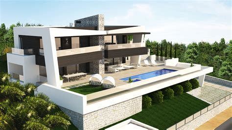 new contemporary 4 bed luxury villa in marbella abc