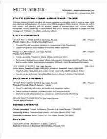 Resume Formates by A Resume Exle In The Combination Resume Format