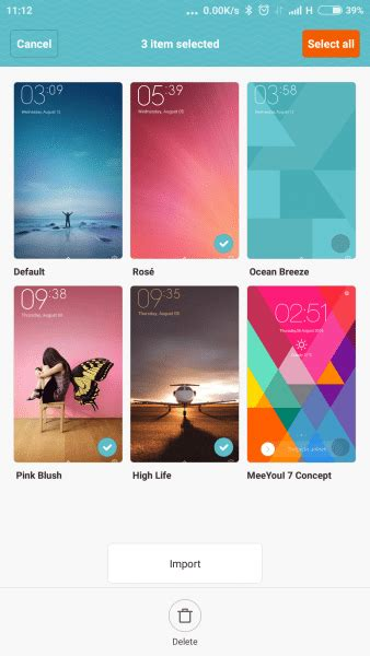 xiaomi themes delete save space by deleting the default miui 7 themes xiaomi