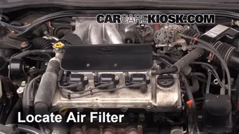 how cars engines work 2003 toyota solara auto manual air filter how to 1999 2003 toyota solara 2001 toyota solara sle 3 0l v6 coupe