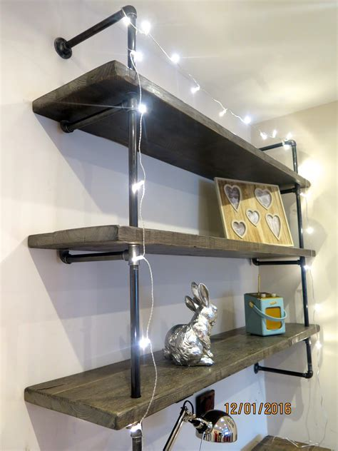 Gas Pipe Shelving Made To Order Lovewood Kitchens Gas Pipe Shelving