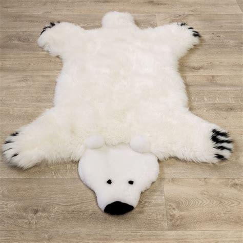 tappeti di pelliccia pelliccia di agnello tappeto per giocare orso tapetto24