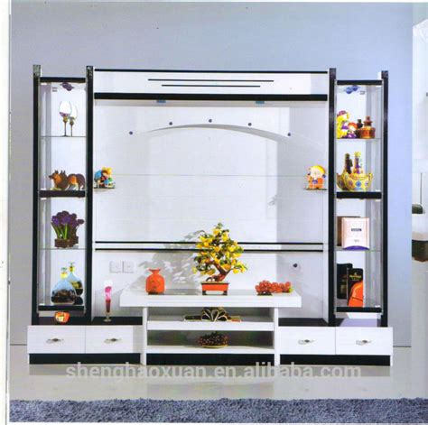 china manufactory modern living room furniture lcd tv
