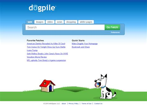 Dogpile Search Alternatives 10 Best Web Search Engines 2015