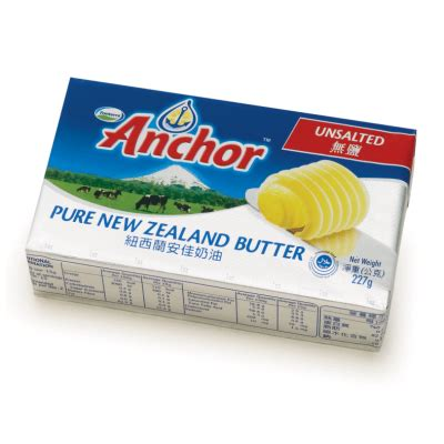 Anchor Unsalted Butter 227g b鏍 l岷爐 anchor anchor unsalted butter new zealand mi岷緉g 227g nguy 234 n h 224 chuy 234 n cung c岷 th峄眂