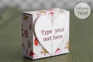 Valentine Cards To Make At Home - free gift box templates to download print amp make