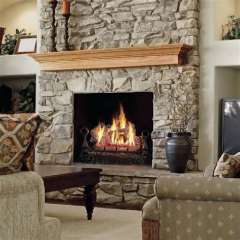 gas fireplace set napoleon gvfl24n vent free gas 24 quot log set at