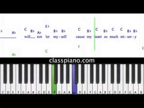 tutorial piano because of you full download piano tutorial kelly clarkson because of you