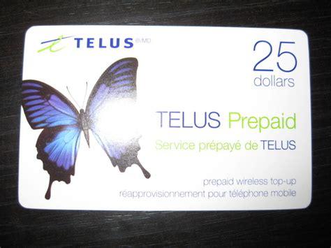 Telus Visa Gift Card - telus prepaid card images