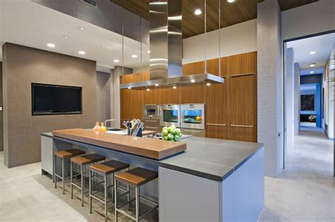 Modern Kitchens With Islands by 64 Deluxe Custom Kitchen Island Designs Beautiful