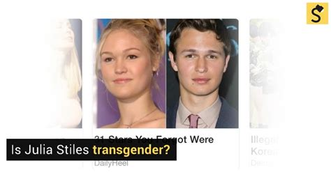 julia styles transgender fact check is julia stiles transgender