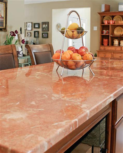 Pink Countertops Kitchen by Kitchen Countertops Kitchen Countertop Selection Guide