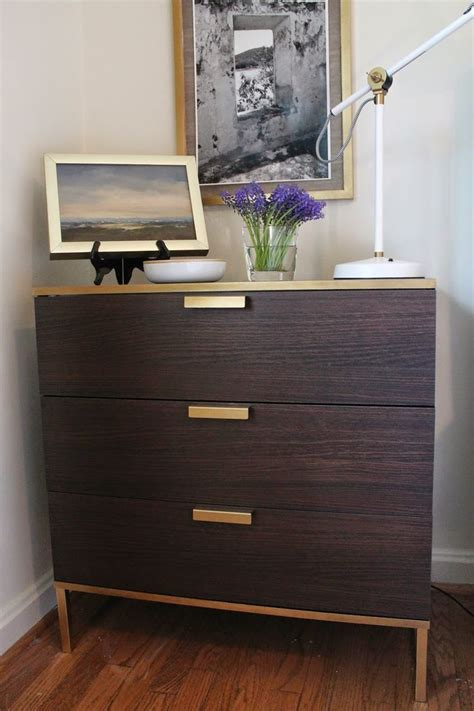 hack and paint my notting hill ikea trysil hack favorite gold spray
