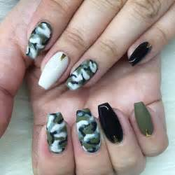 dazzling collection of camo nail designs design trends