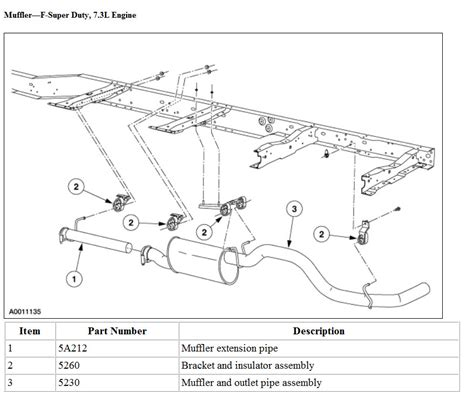 ford f150 exhaust diagram 1990 ford ranger exhaust diagram 1990 get free image