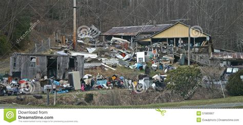 trash house junky house stock photo image 51860667