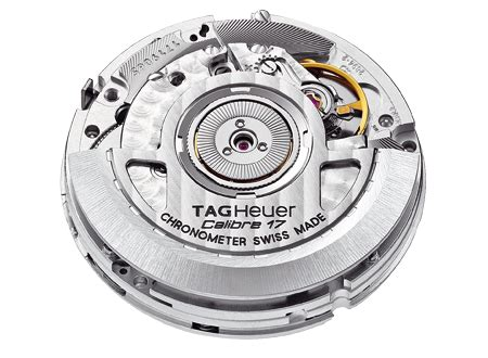 Tagheuer Cal 17 Silver tag heuer caliber calibre 17 rs 187 watchbase