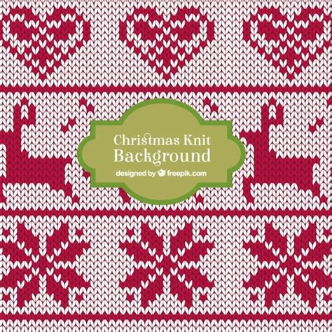 christmas knit wallpaper christmas knit deer background vector free download