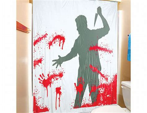 serial killer shower curtain bathroom gadgets cool bathroom design ideas