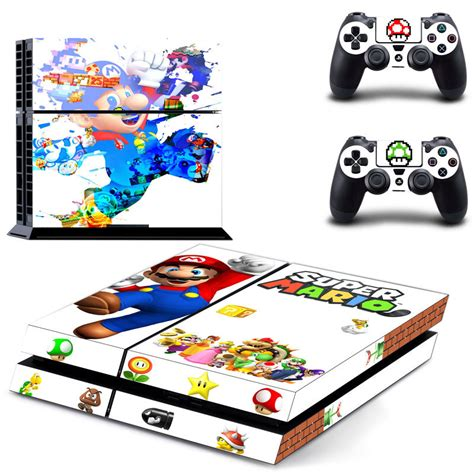 home design games ps4 super mario decal for ps4 controller sticker skin console