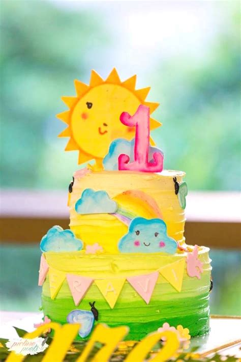 karas party ideas stellar    sunshine birthday