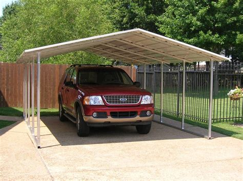 auto carport carports designed by versatube offer elegance and more