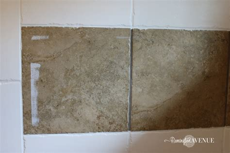 How To Remove Tile Paint From Bathroom Tiles by How To Paint Shower Tile Remington Avenue