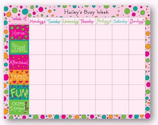 here are some links to free printable weekly calendars
