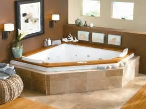 Corner Tub Ideas by Corner Bath Tub Bathroom With Corner Jacuzzi Tub Bathroom