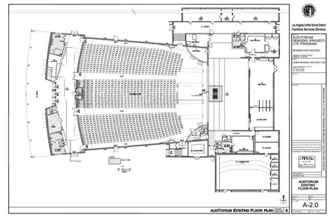 floor plan of auditorium all institutional jhai