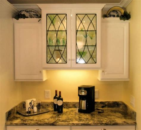 kitchen cabinet glass inserts leaded cabinet glass inserts poulos residence